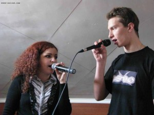 Людмила Дымкова (вокал - Йеннифэр), Юрий Скляр (вокал - Вильгефорц)