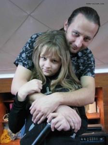 Дарья Пронина (вокал Цирилла), Евгений Пронин (гитара)