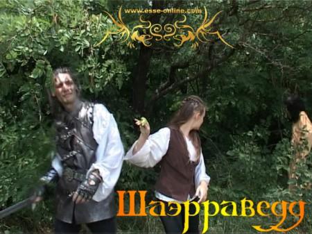 Вячеслав Майер (Геральт), Дарья Пронина (Цририлла)