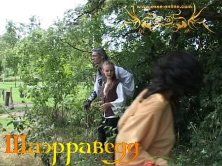 Вячеслав Майер (Геральт), Дарья Пронина (Цририлла), Татьяна Николенко (Эльф)