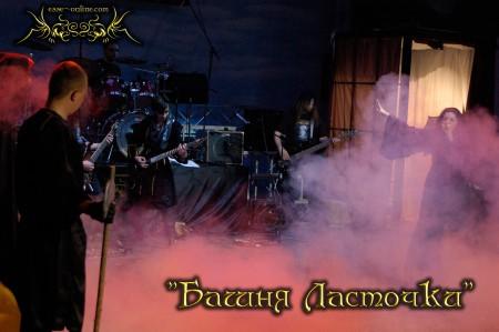 Евгений Пронин, Константин Ильин, Олег Кубраков, Людмила Дымкова (Йеннифэр)