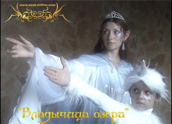 Ольга Струкова (Лара Доррен), Михаил Пронин (Единорог)