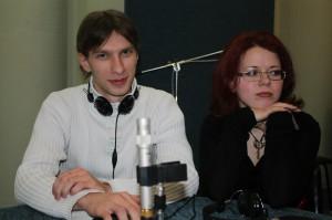 """Фото из студии радиостанции """"Дон-ТР"""". Эфир 24.01.2013"""