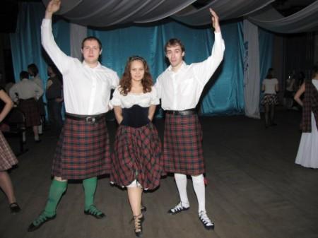 """Клуб Шотландского танца """"Tartan butterfly"""""""