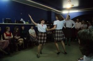 "Клуб Шотландского танца ""Tartan butterfly"". День св. Патрика. Клуб  ""Ложка""."