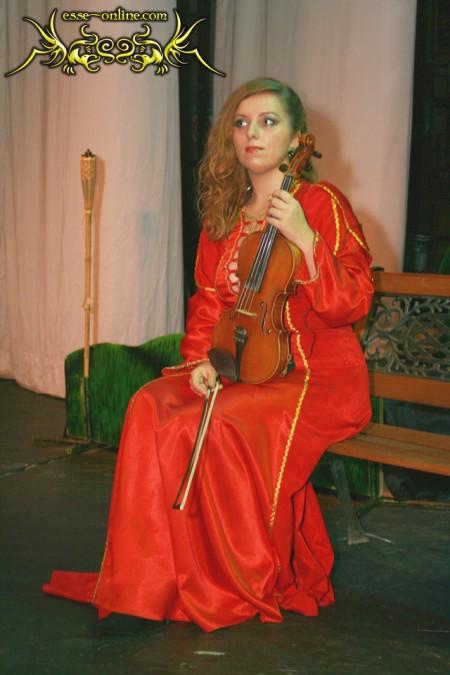 Мария Рябых . Скрипка,вокал (Глазок)