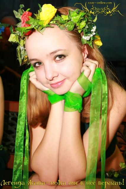 Наталья Стафеева. Актриса - дриада