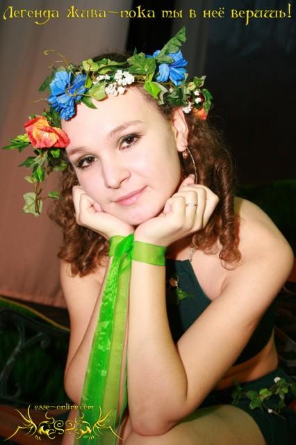 Татьяна Стафеева. Актриса - дриада
