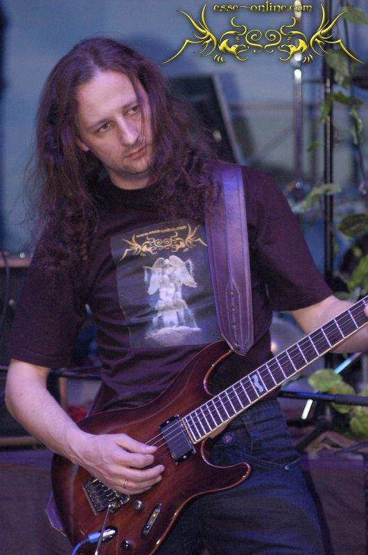 Евгений Пронин, гитара, группа ESSE, автор рок-оперы