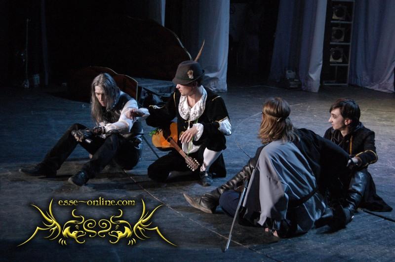Актёры, группа ESSE, рок опера, дорога без возврата