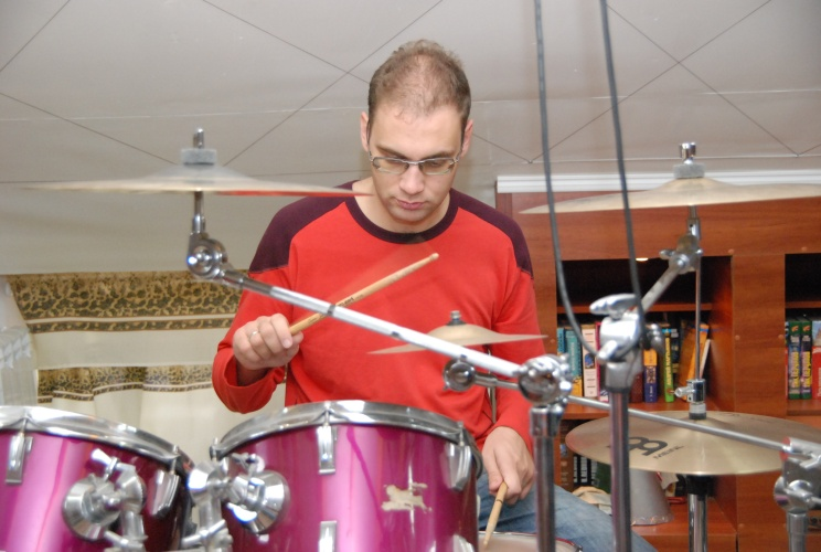 Алексей Мудраков. Музыкант — ударные
